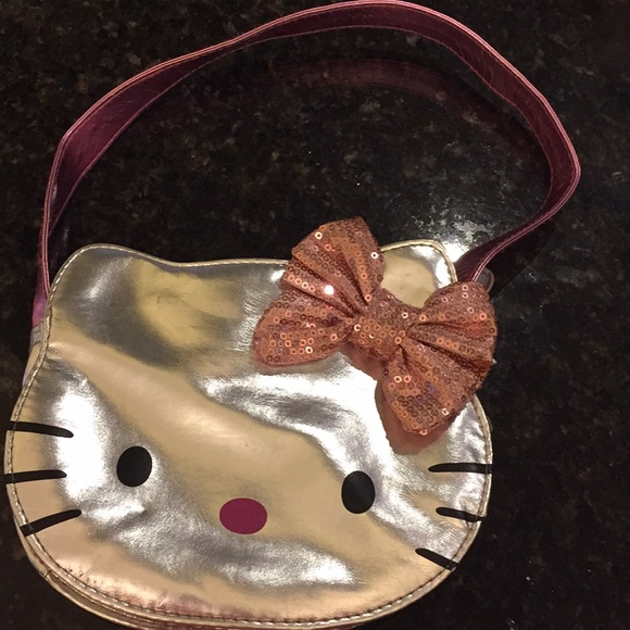 Hello Kitty Other - Hello Kitty | Girl's Silver Purse